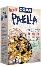 Goya Paella 19oz | Yellow Rice & Seafood Dinner