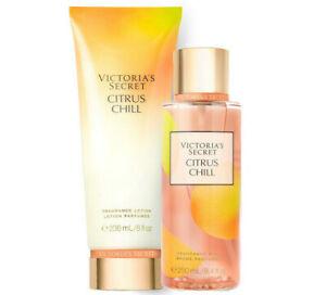 Victoria's Secret Citrus Chill Fragrance Lotion + Fragrance Mist Set