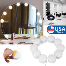 Make up Mirror Lights 10 Led Kit Bulbs Vanity Light Dimmable Lamp For Hollywood