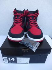 "Used 2010  Air Jordan 1 AJKO ""Bred"" size 14 US / 48.5 EUR"