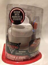 Disney Pixar Lightening McQueen Design A Vinyl Car Kit Markers Stickers Craft