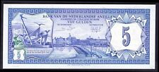 Netherlands Antilles. Five Gulden, 0030763647, 1-6-1984, AU-UNC.