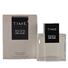 50 ml Krizia Uomo Time Herrenduft EdT Eau de Toilette Spray