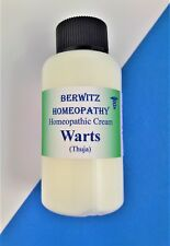 HOMEOPATHY THUJA WARTS CREAM for Adults & children Removes warts & Verrucae 60ml
