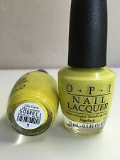 OPI NAIL POLISH - Life Gave Me Lemons (Nl N33) 100% Authentic