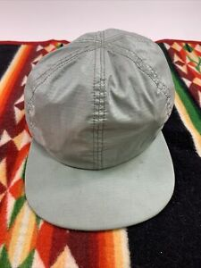 Vintage LL. Bean Gore-tex Made In USA Hiking Cap Snapback Hat RARE Gray Duck