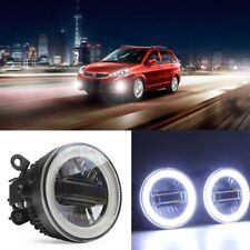 3in1 Superb LED COB Angel Eyes+DRLs+Projector Lens Foglights For Suzuki Series