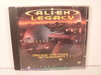 Alien Legacy (Sierra 1994) PC CDROM Strategy Game