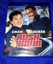 Rush Hour Blu-ray Jackie Chan, Chris Tucker (1998) New, Factory Sealed Fast Ship