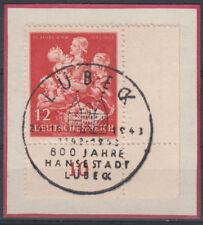 Briefmarken aus dem Deutschen Reich (bis 1945) als Einzelmarke mit Sonderstempel