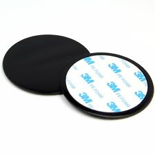 2 pcs Dashboard Dash Disc Disk Plate For Sat Nav GPS Tomtom Garmin Mount Holder