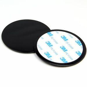 2x Dashboard Dash Disc Disk Plate For Sat Nav GPS Tomtom Garmin Mount Holder -EU