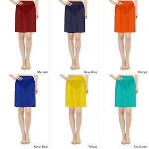 Half Slip Skirt Semi Chiffon Underskirt Adjustable Waist Slips For Women Dresses