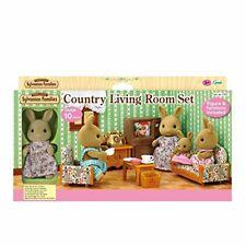 Sylvanian Families 5163 Country Living Room Set Con Conejo madre, Multicolor