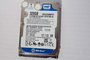 Western Digital WD Scorpio Blue WD3200BPVT - disque dur - 320 Go - SATA-300 (WD3
