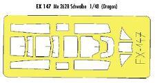 Eduard 1/48 Messerschmitt Me 262B Schwalbe peinture masque pour Dragon Kit # EX147