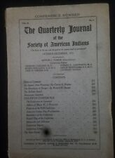 Quarterly Journal  of the Society of American Indians - October  - December 1915