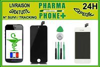 ECRAN LCD IPHONE 5 NOIR - BLANC + VITRE TACTILE - OUTILS ENVOI AVEC SUIVI !