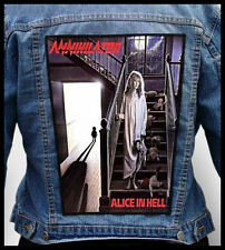 ANNIHILATOR - Alice in Hell  --- Back Jacket Patch backpatch