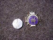 Original St Edmunds ROUNDHAY  Leeds 10k Fun Run 11/05/85 COMPETITORS Badge