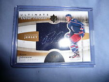 11-12 ULTIMATE DEBUT THREADS Ryan Johansen 1/1  RC AUTO JSY 19/50 His Jersey#