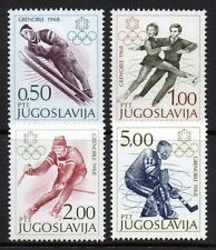 Yugoslavia - 1968 Olympic games Grenoble Mi. 1262-65 MNH