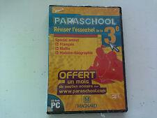 Paraschool Brevet 3eme francais Maths Histoire 2005 PC FR