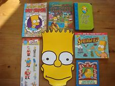 The Simpsons - Collection of Books & Fun Stuff