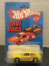 Hot Wheels 1981 Chevy Citation X-22 Yellow #3362 Mattel Die-Cast Metal Car