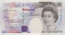 More details for b358 g.m.gill 1991 a09 twenty pounds banknote in near mint condition.