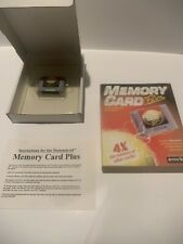 Memory Card Plus For Nintendo 64 N64 With Case New
