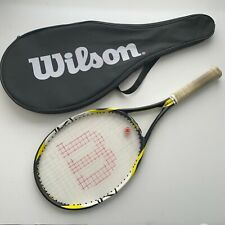 Wilson K Factor Fierce FX Tennis 105 Headsize Racket 4 1/4 Grip Arophite Black