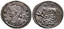 URBS ROMA (332-333 AD) Ae3 Follis. Trier #TC 6686