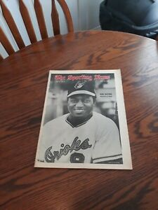 APRIL 19,1969-THE SPORTING NEWS-DON BUFORD OF THE BALTIMORE ORIOLES(NM)