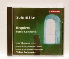 IGOR KHUDOLEI, POLYANSKY - SCHNITTKE requiem, piano concerto CHANDOS CD NM