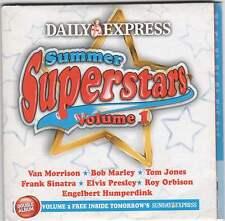 SUMMER SUPERSTARS - 2 PROMO CDs: BOB MARLEY, TOM JONES, FRANK SINATRA ETC