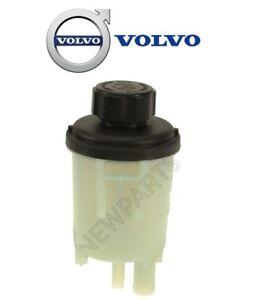 For Volvo V70 XC60 XC90 P/S Power Steering Reservoir w/ Cap Genuine 30680756