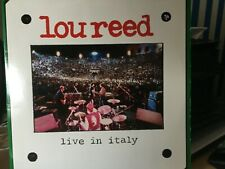 Lou Reed-Live in Italy 2lp original top condition
