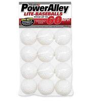 Heater Sports Poweralley 60 Mph White Lite Baseballs