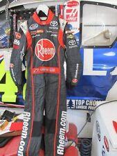 NASCAR RACE USED ALPINESTARR DRIVER SUIT JAMES BUESCHER RHEEM