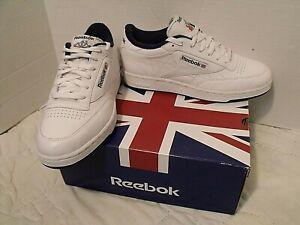 Reebok Club C CLASSIC White/Navy SZ 8 1/2 M Running Tennis Shoes NEW(OTHER)W/BOX