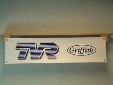 TVR Griffith Banner Car Show Garage Workshop Display