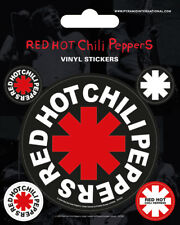 Red Hot Chili Peppers - VINYL STICKERS 5 Pack BY PYRAMID PS7212