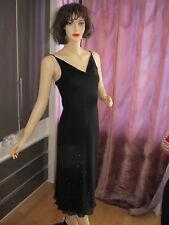 1e5f46c2777a0d Marken zero woman Kleid Party Abendkleid Pailletten schwarz neuwertig Gr. 36