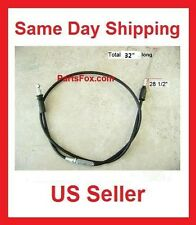 "Throttle Cable 50cc 70cc 90cc 100cc 110cc 125cc 32"" long Taotao Peace ATV Quad"
