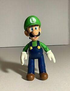 "Nintendo Mario Bros. Luigi Figure 4.5"" loose"