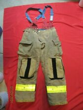 Mfg 2014 Morning Pride 36 X 32 Fire Fighter Turnout Pants Bunker Gear Suspenders