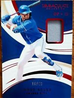 2020 PANINI IMMACULATE JORGE SOLER RED FOIL PARALLEL JERSEY RELIC #'d 16/49 SP
