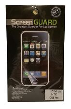 HTC One  M8   Anti - Glare Screen Protector Screen Guard