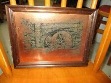 Vintage Copper Picture of Cuckoo Arch Workington